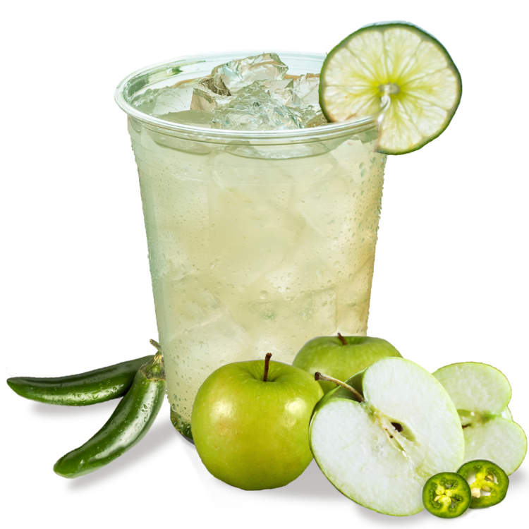 Spicy Apple Limeade
